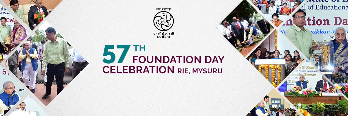 57th foundation day celebration